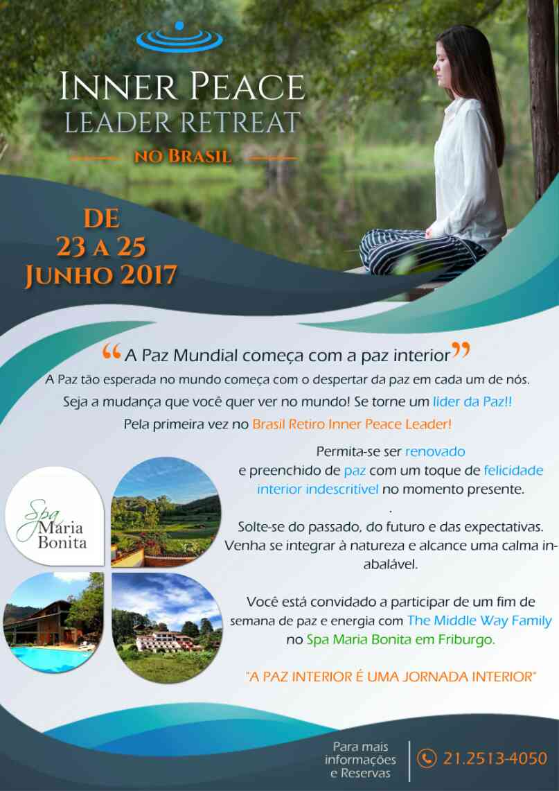 Inner Peace Leader Retreat in Brazil - information