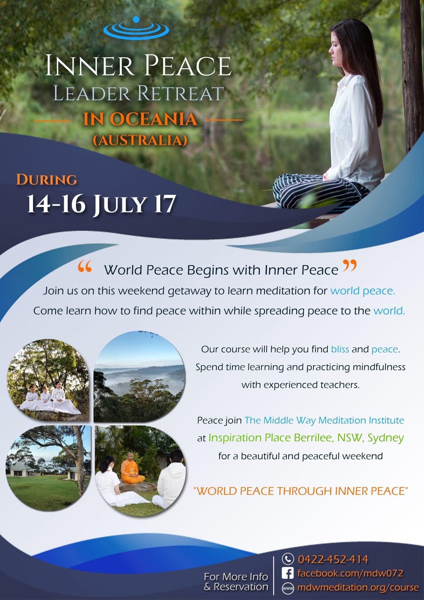 Inner Peace Leader Retreat in Brazil - information