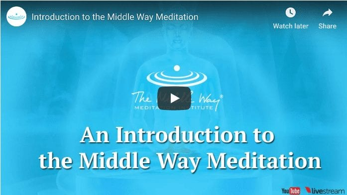 Introduction to the middle way meditation technique